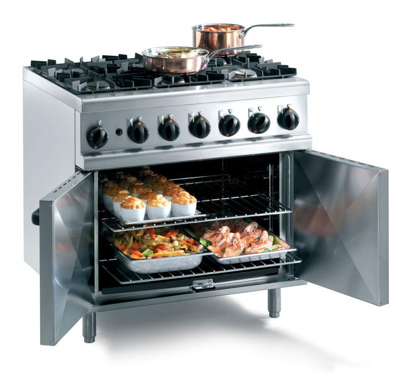LPG Commercial Ovens & Ranges