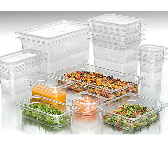 Plastic Gastronorm Containers