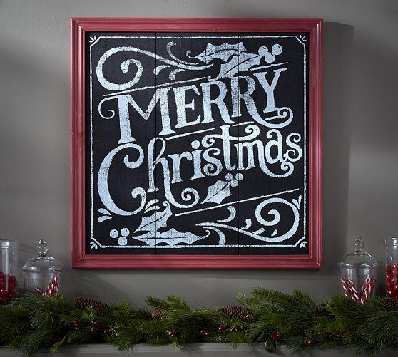 Christmas Chalkboards