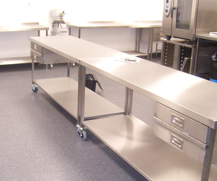 Stainless Steel Tables & Wall Benches