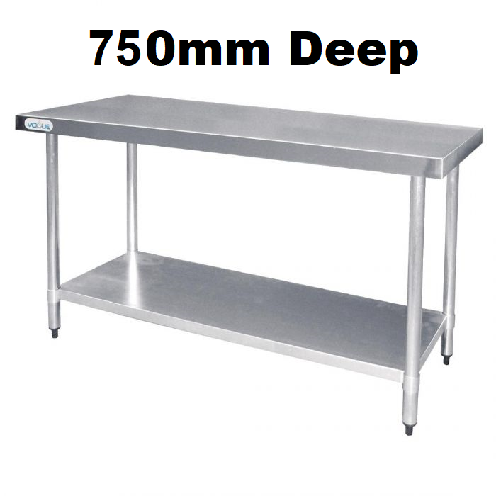 Stainless Steel Tables - 750mm Deep