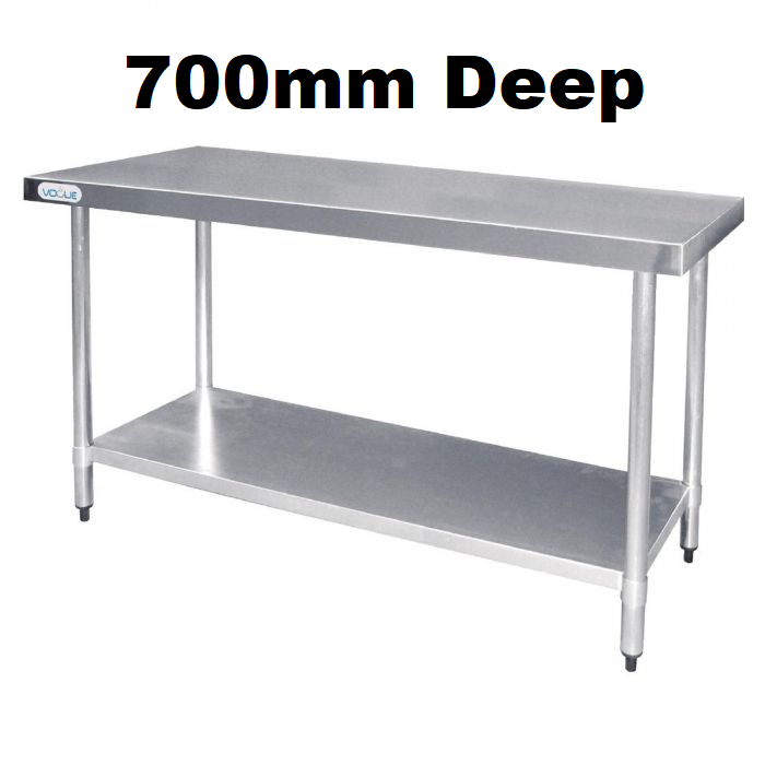 Stainless Steel Tables - 700mm Deep