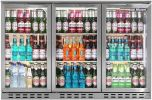 Blizzard BAR3SS Bottle Cooler 3 Doors Stainless Steel