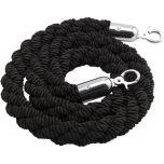 Barrier Rope Black - Use W/Code Bp-Rpe - Genware