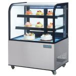 Polar CG841 - Deli Display with Curved Glass 270Ltr