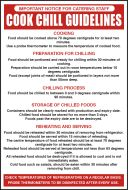 Cook chill guidelines. 300x200mm. S/A