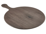 "Wood Effect Melamine Paddle Board Round 21"" - Genware"