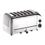Dualit DB6SP 6 Slice Toaster Stainless Steel