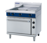 Blue Seal E506B - Electric Range with Griddle, 2 Elements & Static Oven 900mm
