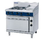 Blue Seal E506C - Electric Range with Griddle, 4 Elements & Static Oven 900mm