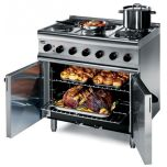 Lincat ESLR9C Silverlink 600 - 6 Burner Electric Oven