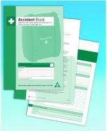 Accident book for the workplace A4
