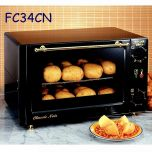 Roller Grill FC34CN Classic Noir Styled Convection Oven