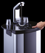 Borg & Overstrom B5 101521 Floorstanding Tap Water Dispenser - Direct Chill & Ambient