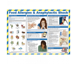 Food Allergies & Anaphylactic Shock Poster - HSP31