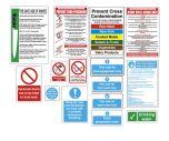Food Preparation Sign Pack - FPRPK 15 Signs