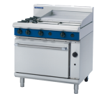 Blue Seal G506B - Gas Range - 2 Burner With 600mm Smooth Griddle - LPG Gas