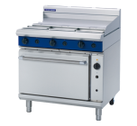Blue Seal Evolution G56A - Gas Range, 600mm Griddle with Gas Convection Oven 900mm - Natural Gas