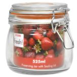 Cliptop Glass Preserving Jar 11cm / 4""