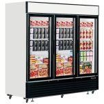 Interlevin LGF7500 Glass 3 Door Display Freezer