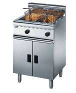 Lincat Silverlink 600 J10/N - Freestanding Twin Tank Gas Fryer - Natural Gas