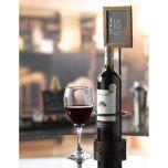 Wine Bottle x1 Chalk Board Display 45 x 10.5cm - Genware