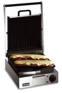 Lincat LPG Lynx 400 - Panini Grill (Ribbed Upper And Lower Plates)