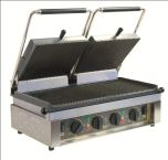 Roller Grill MAJESTIC R - Ribbed Top & Base Plates