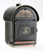 King Edward PB2FV/BLK Large Potato Baker Oven - Traditional Black