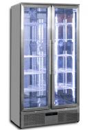 Prodis NT20ST-HC 560 Ltr Double Door Upright Bottle Cooler SS
