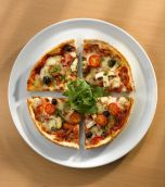 Royal Genware Pizza Plate 28cm White Porcelain 162928