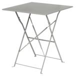 Bolero GK988 Grey Square Pavement Style Steel Table