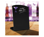 Cocktail Specials Shaped Chalk Board Tabletop Message Board