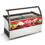 Crystal Venus Elegante 36 Ice Cream Display Freezer 354L