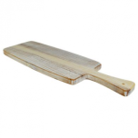 White Washed Wooden Paddle Board NAT-PADW