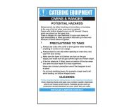 Ovens/Ranges Catering Safety Sign - Mileta CE001