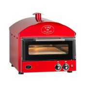King Edward PK1 Pizza King Oven - Single Deck - Red
