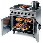 Lincat ESLR9C Silverlink 600 - 6 Burner Electric Oven - Single Phase