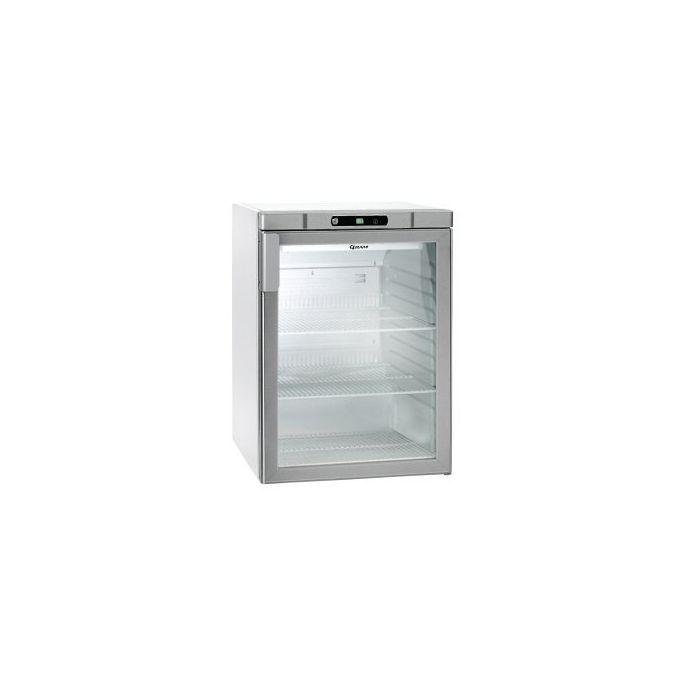 Gram Compact Kg 210 Lg 3w Undercounter Glass Door Fridge White 125