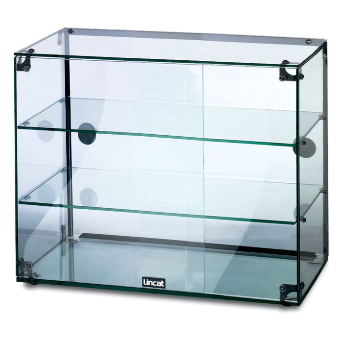 Lincat Gc36d Seal Ambient Glass Display Unit With Doors 600mm