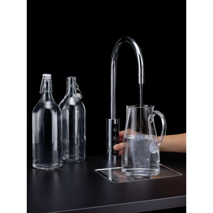 Borg & Overstrom U1 601162 Under Counter Chilled & Sparkling Water Tap 20ltr