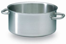 Bourgeat Excellence 12.8 Ltr Stainless Steel Casserole Pot 32cm - 10184-03