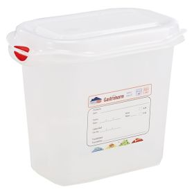 Genware Storage Container 1/9GN - 150mm Deep 1.5L