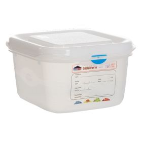 Genware Storage Container 1/6GN - 100mm Deep 1.7L