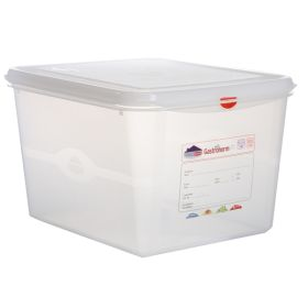 Genware Storage Container 1/2GN - 200mm Deep 12.5L