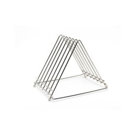 Genware Stainless Steel  Wire Cutting Board Rack
