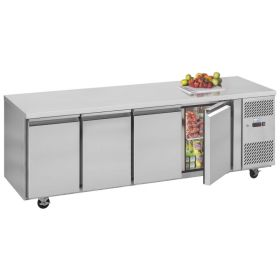 Interlevin PH40 Gastronorm Prep Fridge / Counter - 4 Doors