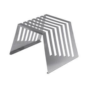 "Stainless Steel Rack For 6 Cutting Boards 1/2""Thick - Genware"