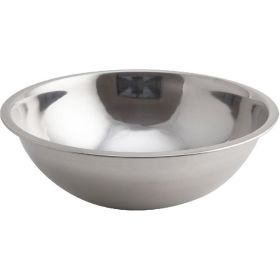Genware Mixing Bowl Stainless Steel  2.5 Litre