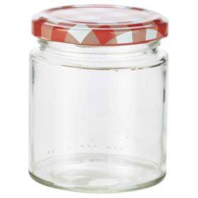 Glass Preserving Jar 250ml 2660250 - Genware